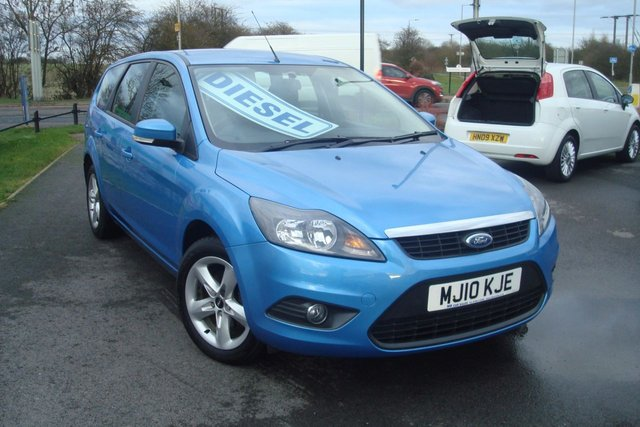 2010 10 FORD FOCUS 1.6 ZETEC TDCI 5d 109 BHP ESTATE