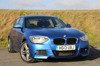 2013 BMW 1 SERIES 2.0 125D M SPORT 5d AUTO 215 BHP £16495.00