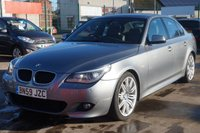 2009 BMW 5 SERIES 2.0 520D M SPORT 4d AUTO 175 BHP £8995.00