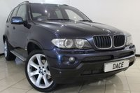 USED 2006 56 BMW X5 3.0 D SPORT 5DR AUTOMATIC 215 BHP SERVICE HISTORY + CLIMATE CONTROL + SAT NAVIGATION + PANORAMIC ROOF + ALLOY WHEELS