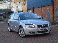 2010 VOLVO V50 1.6 D DRIVE SE LUX 5dr £6950.00
