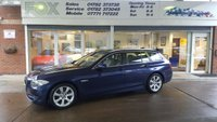 2010 BMW 5 SERIES 2.0 520D SE TOURING 5d AUTO 181 BHP £11500.00