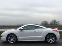 2015 PEUGEOT RCZ 2.0 HDI GT 2d 163 BHP £15000.00