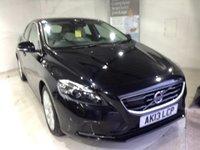 2013 VOLVO V40 2.0 D3 SE LUX NAV 5d AUTO 148 BHP £12500.00