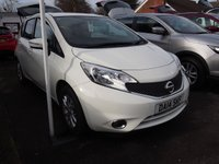USED 2014 14 NISSAN NOTE 1.2 ACENTA 5d 80 BHP NEED FINANCE? WE CAN HELP. WE STRIVE FOR 94% ACCEPTANCE