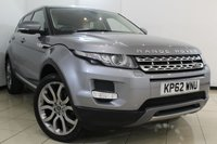 USED 2012 03 LAND ROVER RANGE ROVER EVOQUE 2.2 SD4 PRESTIGE 5DR AUTOMATIC 190 BHP FULL SERVICE HISTORY + LOW MILEAGE + SAT NAVIGATION + CLIMATE CONTROL + ALLOY WHEELS