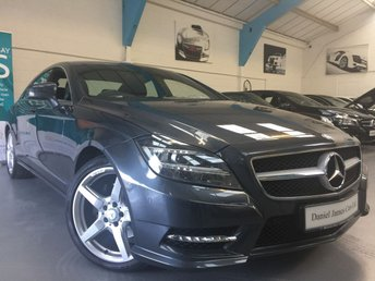 2013 MERCEDES-BENZ CLS CLASS 2.1 CLS250 CDI BLUEEFFICIENCY AMG SPORT 4d AUTO 204 BHP £SOLD
