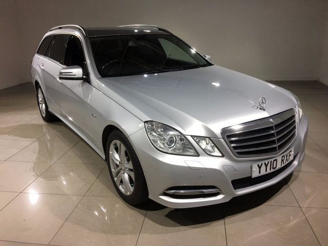 View our 2010 10 MERCEDES-BENZ E CLASS 2.1 E220 CDI BLUEEFFICIENCY AVANTGARDE 5d 170 BHP