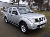 USED 2006 06 NISSAN NAVARA 2.5 AVENTURA DCI 4X4 SHR SWB D/C 1d 174 BHP ***High specification - drives superbly***