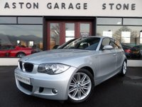2007 BMW 1 SERIES 1.6 116I M SPORT 5d 114 BHP **1/2 LEATHER** £5490.00