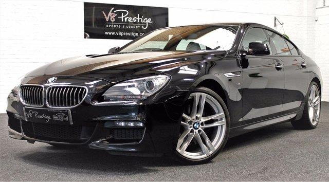 2013 63 BMW 6 SERIES 3.0 640D M SPORT GRAN COUPE 4d AUTO 309 BHP