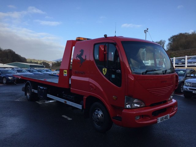 2003 53 DAEWOO MUSSO D75 EURO 3 PICK-UP 2 CAR TRANSPORTER 3.9 Diesel