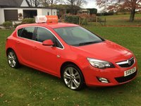 USED 2010 10 VAUXHALL ASTRA 1.4 i 16v Turbo SRi 5dr