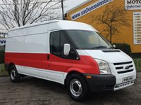 2012 FORD TRANSIT 140 T350L Medium Roof Panel van [ Air-Con ] Fwd Managers Special £5950.00