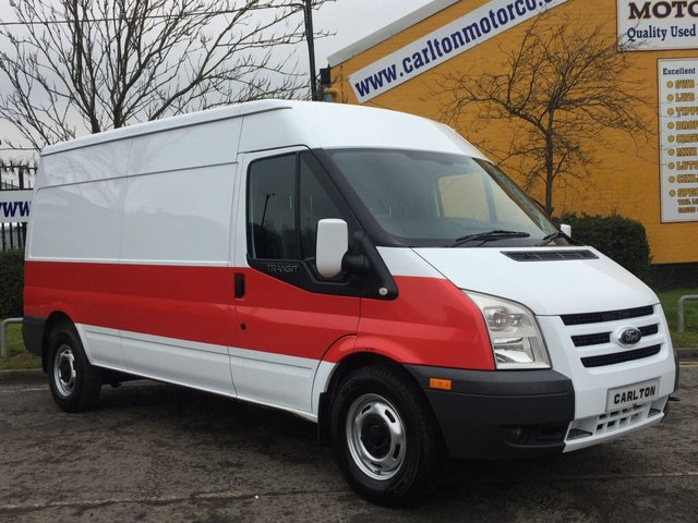 2012 61 FORD TRANSIT 140 T350L Medium Roof Panel van [ Air-Con ] Fwd Managers Special