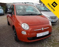USED 2008 08 FIAT 500 1.2 POP 3d 69 BHP A retro city car inspired by the 1950s original, the Fiat 500 has really struck a chord with UK car buyers. It's dripping with style and affordable to buy and run.