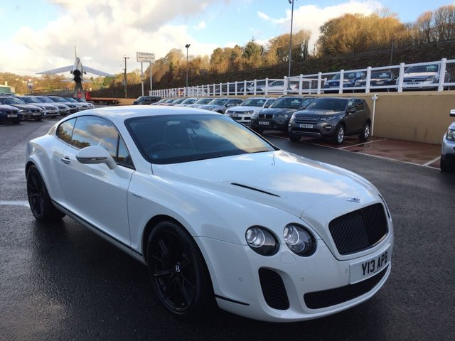 2010 59 BENTLEY CONTINENTAL 6.0 SUPERSPORTS 2d AUTO 621 BHP