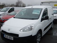USED 2014 14 PEUGEOT PARTNER 1.6 HDI S L1 850 VAN 1d 89 BHP AIR CON