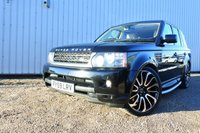 2010 LAND ROVER RANGE ROVER SPORT 5.0 V8 SUPERCHARGED HSE 510 BHP AUTO  £19500.00