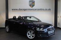 USED 2009 09 AUDI A3 1.8 TFSI SPORT 2DR 158 BHP + FULL SERVICE HISTORY + SPORT SEATS + AUXILIARY PORT + HEATED MIRRORS + 17 INCH ALLOY WHEELS +