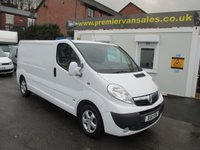 2011 VAUXHALL VIVARO 2.0 2900 CDTI  115 BHP SPORTIVE FULLY COLOUR CODED FULL SERVICE HISTORY  SUPER CONDITION SOLD WITH WARRANTY  £4995.00