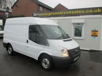 2012 FORD TRANSIT 300 MODEL MEDIUM ROOF TURBO DIESEL SIX SPEED  ELECTRIC PACK  ONE COMPANY OWNER FULL DEALER SERVICE HISTORY  £4995.00
