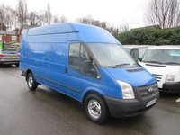 2012 FORD TRANSIT 350 LONG WHEEL BASE MODEL IN BLUE 2.2 TURBO DIESEL SIX SPEED  EX LEASE FULL SERVICE HISTORY    CHOICE OF THREE IN STOCK  £7500.00