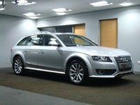 USED 2010 10 AUDI A4 ALLROAD 2.0 ALLROAD TDI QUATTRO 5d 168 BHP