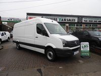 2014 VOLKSWAGEN CRAFTER 2.0 CR35 TDI LWB WITH FSH £11695.00