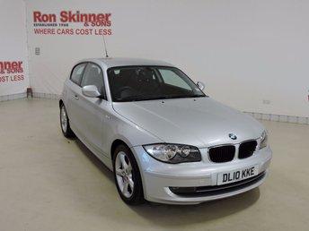 2010 BMW 1 SERIES 2.0 116I SPORT 3d 121 BHP £7999.00