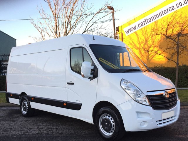2011 60 VAUXHALL MOVANO R3500 L3H2 CDTI 125 [ Mobile Workshop+ Inverter ] Van Rwd Low Mileage Ex Lease Fsh Free UK Delivery