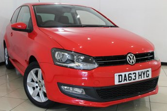 2014 VOLKSWAGEN POLO 1.2 MATCH EDITION 3DR 59 BHP £7760.00