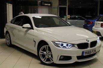 2015 BMW 4 SERIES 2.0 420D M SPORT GRAN COUPE 4d AUTO 188 BHP £23940.00
