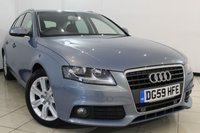 USED 2010 59 AUDI A4 1.8 AVANT TFSI SE 5DR 120 BHP FULL SERVICE HISTORY + CLIMATE CONTROL + PARKING SENSORS + MULTI FUNCTION WHEEL + ALLOY WHEELS