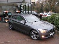 2013 BMW 1 SERIES 2.0 116D SPORT 3d 114 BHP £9990.00