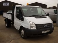 2013 FORD TRANSIT 2.2TDCi T350 Single Cab Tipper 125 BHP £13295.00