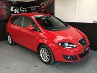 2011 SEAT ALTEA 2.0 CR TDI SE 5d 140 BHP £5600.00