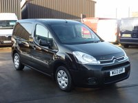 2013 CITROEN BERLINGO 1.6HDI 625 ENTERPRISE SWB  75 BHP - 3 SEATS - Air Con - Sensors - Black £6495.00