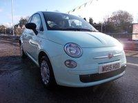 2015 FIAT 500 1.2 POP 3d 69 BHP £6995.00
