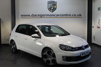 USED 2012 62 VOLKSWAGEN GOLF 2.0 GTI DSG 5DR AUTO 210 BHP + FULL VW SERVICE HISTORY + 1 OWNER FROM NEW + FULL BLACK LEATHER INTERIOR + HEATED SPORT SEATS + BLUETOOTH + REVERSE CAMERA + DAB RADIO + PARKING SENSORS + 18 INCH ALLOY WHEELS +