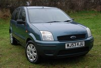 USED 2003 53 FORD FUSION 1.4 FUSION 2 [78 BHP] 5 Door Hatchback