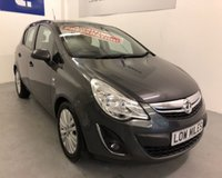 USED 2012 61 VAUXHALL CORSA 1.2 EXCITE AC 5d 83 BHP 2012 Reg lovely LOW MILEAGE Corsa In Asteroid Grey-19,507 miles with alloy wheels,air conditioning,rear park sensors and 7 service stamps in book -immaculate