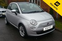 USED 2011 11 FIAT 500 1.2 LOUNGE 3d 69 BHP 11 REG  - Fiat 500 1.2 Lounge 3dr  - PANORAMIC ROOF -  £30 ROAD TAX