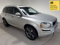 USED 2012 12 VOLVO XC90 2.4 D5 R-DESIGN AWD 5d 200 BHP B/TOOTH-LEATHER-SATNAV-SENSORS-7 SEATER