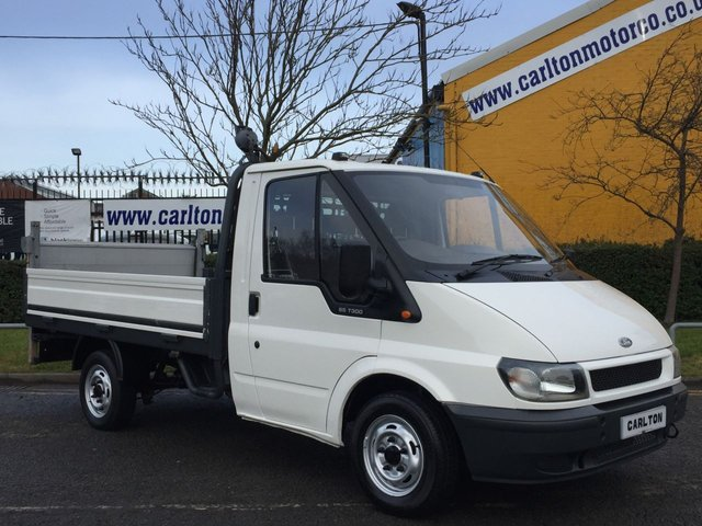 2006 06 FORD TRANSIT Ford Transit T300s Dropside / Pickup + Tail Lift Low Mileage Free UK Delivery