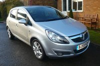USED 2009 59 VAUXHALL CORSA 1.2 SXI A/C 16V 5d 80 BHP GREAT CITY CAR ! AFFORDABLE FOR A SPORTY SMALL HATCHBACK!
