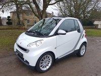 2009 SMART FORTWO CABRIO 1.0 PASSION MHD 2d AUTO 71 BHP £3950.00