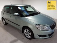 USED 2013 13 SKODA FABIA 1.6 SE  TDI CR 5d 89 BHP FSH-A/C-ISOFIX-AUX-PRIVACY GLASS
