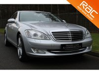 USED 2007 07 MERCEDES-BENZ S CLASS 5.5 S500 4d AUTO 383 BHP ONLY ONE OWNER FROM NEW WITH MERCEDES HISTORY AND EXCELLENT SPECIFICATION