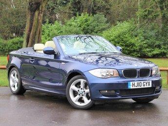 2010 BMW 1 SERIES 2.0 118I Sport 2dr Auto £9495.00